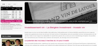 Labergere Investment.com : deux experts pour votre investissement dans le vin.